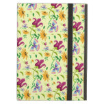 Pretty Wild Flowers Floral Pattern iPad Case