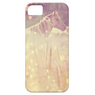 Pretty Wild Mustang Gold Sparkles Horse iPhone SE/5/5s Case