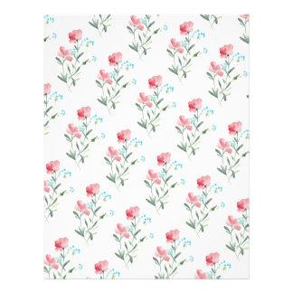 Pretty Wildflowers | Rustic DIY Envelopes Liner Flyer