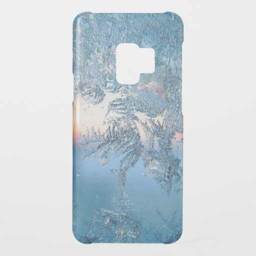 Pretty Winter Frosted Glass Uncommon Samsung Galax Uncommon Samsung Galaxy S9 Case