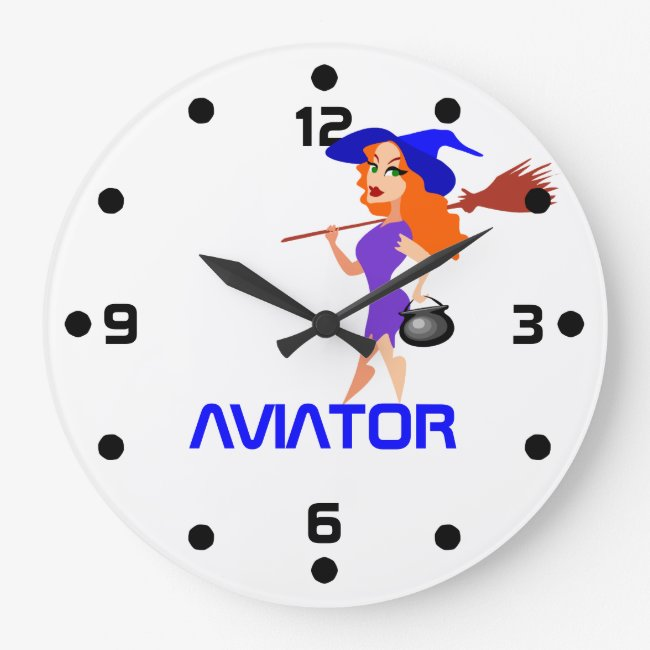 Pretty witch Aviator customizable