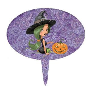 Pretty Witch Cake Topper