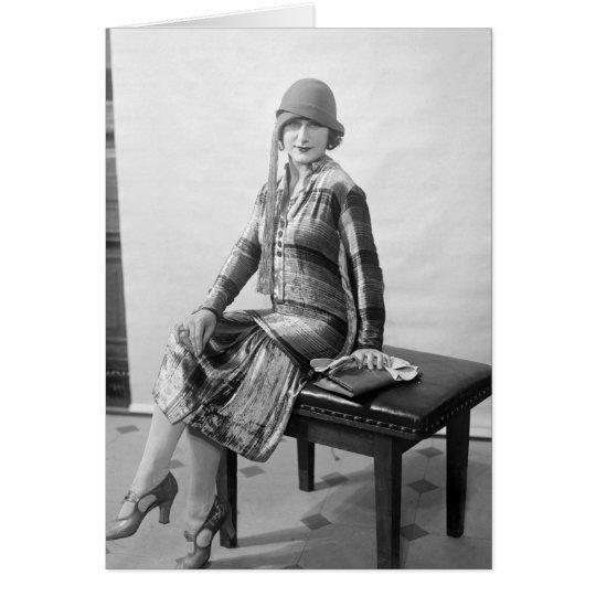 Pretty Woman, 1920s Fashion Card