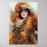 Pretty Woman 1920s Fashion Poster