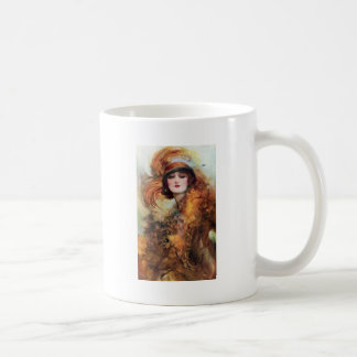 Pretty Woman Flapper Fashion 1920s Coffee Mug