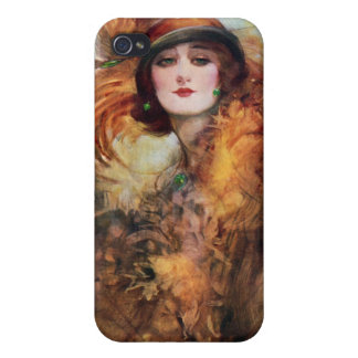 Pretty Woman Flapper Fashion 1920s iPhone 4 Covers