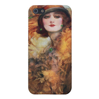 Pretty Woman Flapper Fashion 1920s Cover For iPhone 5