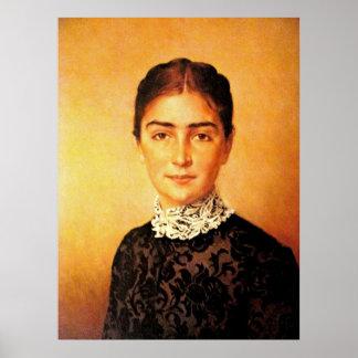 Pretty Woman Portrait Poster