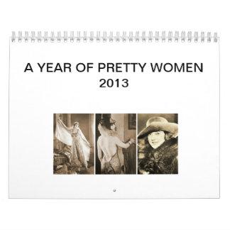 Pretty Women 2013 Calendar