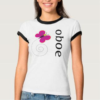 Pretty Womens Oboe T-shirt