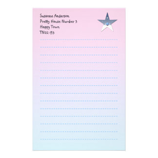 Pretty Writing Paper for Children Stationery