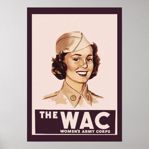 Pretty WWII WAC Posters