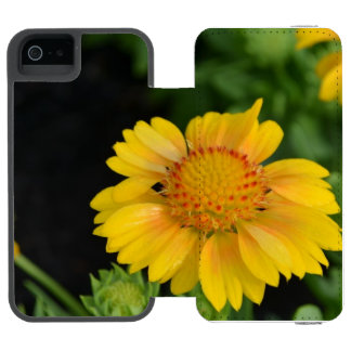 Pretty Yellow Gaillardias Incipio Watson™ iPhone 5 Wallet Case