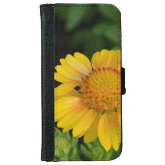 Pretty Yellow Gaillardias iPhone 6 Wallet Case
