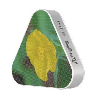 Pretty Yellow Poppy Bluetooth Speaker