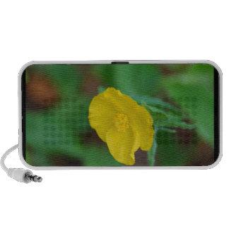Pretty Yellow Poppy Mini Speaker
