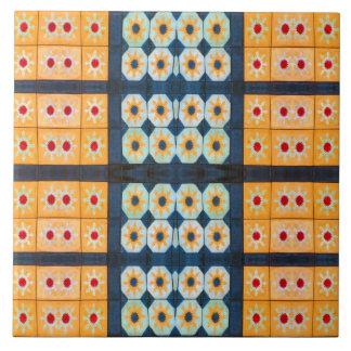 pretty yellow tile pattern