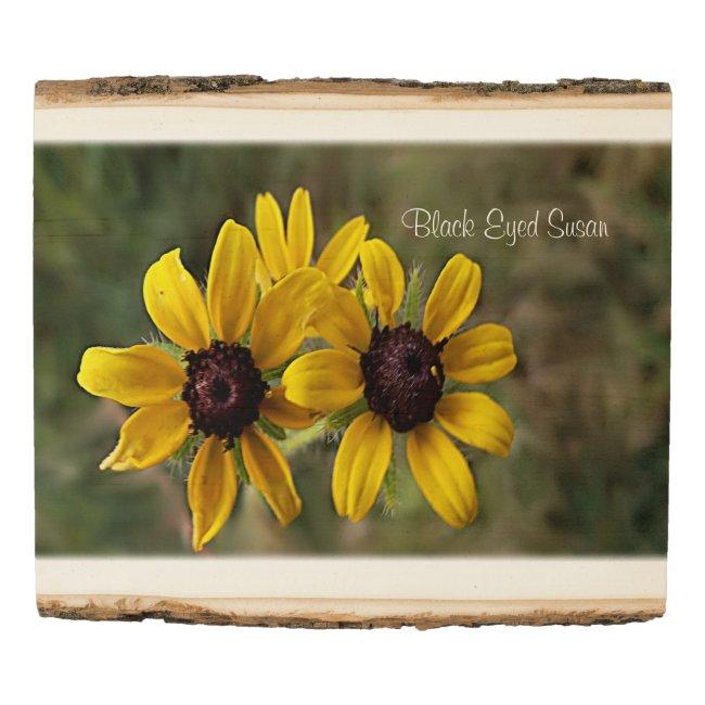 Pretty Yellow Wildflowers Nature Art Photo