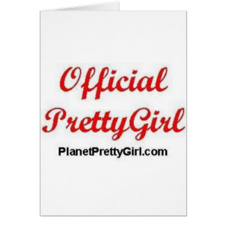 PrettyGirl Stuff Card