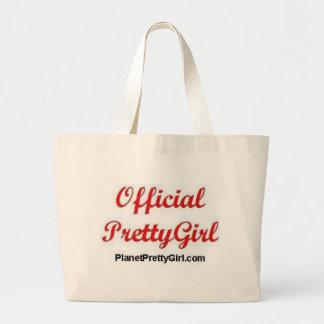 PrettyGirl Stuff Large Tote Bag