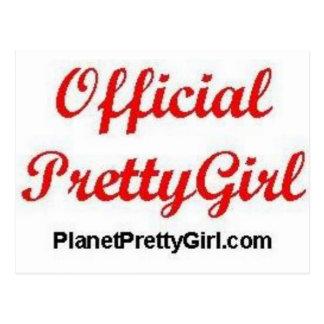 PrettyGirl Stuff Postcard