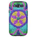 PrettyGlitteryFlower Samsung Galaxy SIII Case