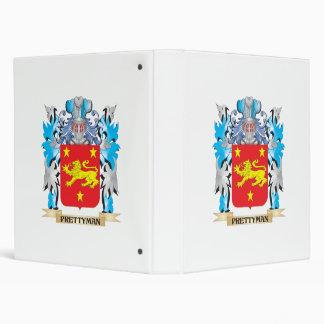 Prettyman Coat of Arms - Family Crest Vinyl Binder