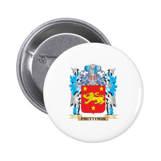 Prettyman Coat of Arms - Family Crest Pin