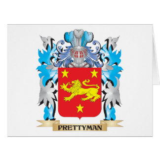 Prettyman Coat of Arms - Family Crest Greeting Cards