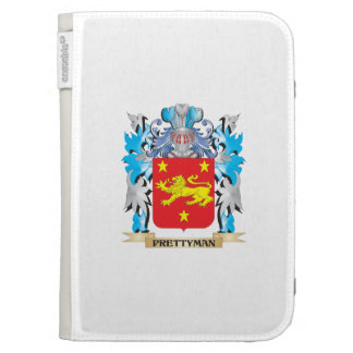Prettyman Coat of Arms - Family Crest Kindle Folio Case