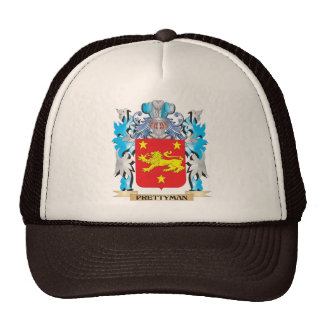 Prettyman Coat of Arms - Family Crest Hats