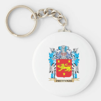 Prettyman Coat of Arms - Family Crest Keychains