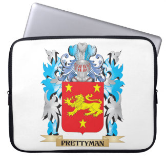 Prettyman Coat of Arms - Family Crest Computer Sleeves