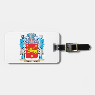 Prettyman Coat of Arms - Family Crest Luggage Tags