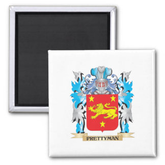 Prettyman Coat of Arms - Family Crest Refrigerator Magnets