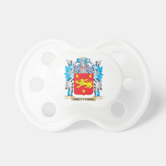 Prettyman Coat of Arms - Family Crest BooginHead Pacifier