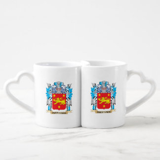 Prettyman Coat of Arms - Family Crest Couple Mugs