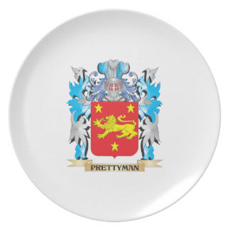 Prettyman Coat of Arms - Family Crest Dinner Plate