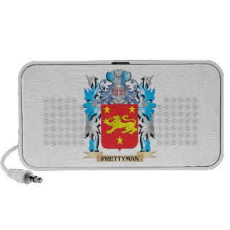 Prettyman Coat of Arms - Family Crest Speaker System