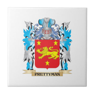 Prettyman Coat of Arms - Family Crest Tiles
