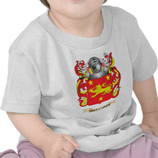 Prettyman Coat of Arms (Family Crest) T Shirts