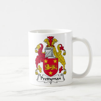 Prettyman Family Crest Coffee Mug