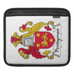 Prettyman Family Crest Sleeve For iPads