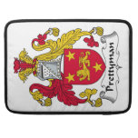 Prettyman Family Crest Sleeve For MacBook Pro