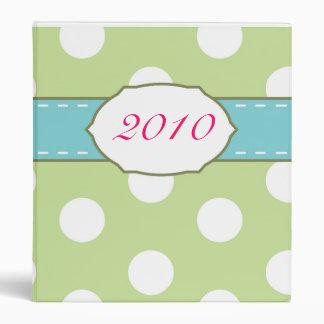 *prettyme* polka dot {binder} binder