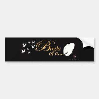 PrettyStuck.com::Birds of a Feather::Bumpersticker Bumper Stickers