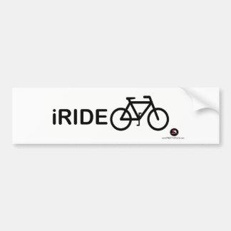 PrettyStuck.com::iRIDE::BumperSticker Bumper Stickers