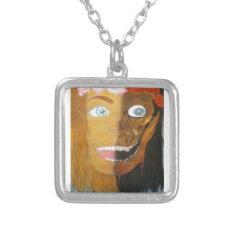 PrettyUgly.png Square Pendant Necklace