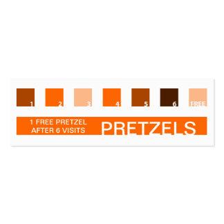 PRETZEL customer appreciation (mod squares) Business Cards