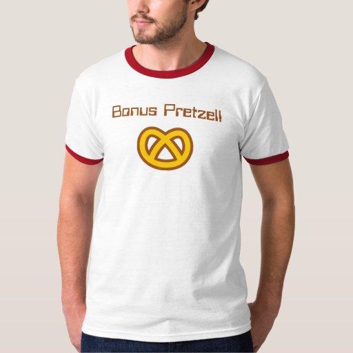 ¡Pretzel de la prima! Camisas